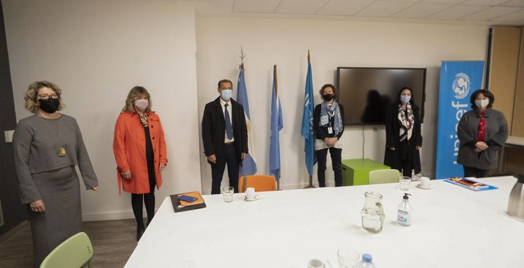 El gobernador se reunió con representantes de Unicef en Argentina