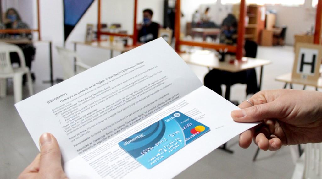 Provincia entregará más de 3000 tarjetas alimentarias