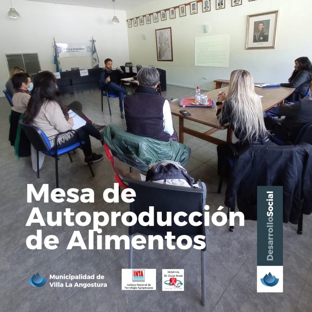 VLA - Encuentro entre la Mesa de Autoproducción de Alimentos, el Hosp. Oscar Arraiz y el INTA