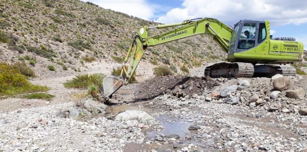 La subsecretaría de Recursos Hídricos trabaja en la emergencia hídrica