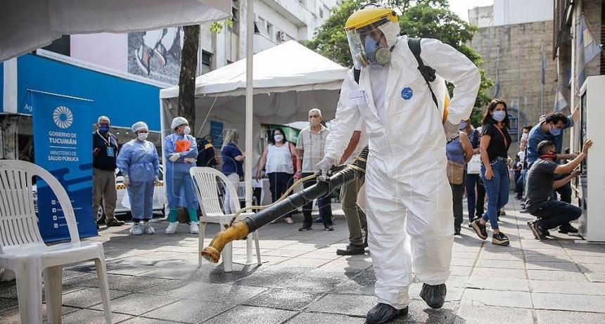 Murieron 46 personas y se registraron 1.564 nuevos contagios en el país